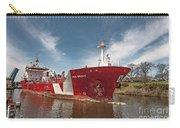 Iver Bright Tanker On The Manistee River Carry-all Pouch