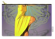 Jacinta In Yellow Carry-all Pouch