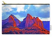 Jack's Canyon Village Of Oak Creek Arizona Sunset Red Rocks Blue Cloudy Sky 3152019 5080  Carry-all Pouch