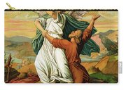 Jacob Wrestiling With The Angel  Carry-all Pouch