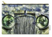 Jaguar Car Van Gogh Carry-all Pouch