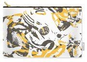 James Connor Pittsburgh Steelers Pixel Art 3 Carry-all Pouch