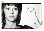 Jane Fonda Mug Shot Carry-all Pouch