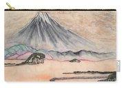 Japan Art And Mount Fuji - Suzuki Kiitsu In Color By Sawako Utsumi Carry-all Pouch