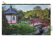 Japanese Garden #2 - Pagoda And Red Bridge Carry-all Pouch