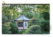 Japanese Garden #4 - Island Pagoda Vertical Carry-all Pouch