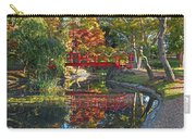 Japanese Garden Red Bridge Reflection Carry-all Pouch