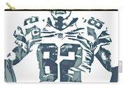 Jason Witten Dallas Cowboys Pixel Art 22 Carry-all Pouch