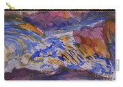 Jay Cooke Favorite Spot In Purple And Tan Carry-all Pouch
