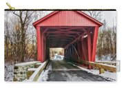 Jericho Covered Bridge Snow Carry-all Pouch