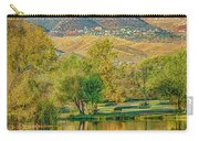 Jerome Reflected In Deadhorse Ranch Pond Carry-all Pouch
