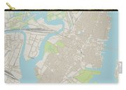 Jersey City New Jersey Us City Street Map Carry-all Pouch