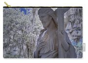 Jesus Graveyard Statue Carry-all Pouch