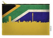 Johannesburg South Africa World City Flag Skyline Carry-all Pouch