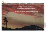 John 12 Carry-all Pouch