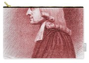 John Wesley, Anglican Minister And Christian Theologian Carry-all Pouch