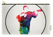 Johnny Cash Watercolor Carry-all Pouch