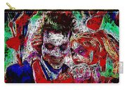 Joker And Harley Quinn 2 Carry-all Pouch