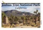 Joshua Tree National Park Valley, California Carry-all Pouch