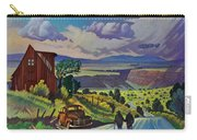 Journey Along The Road To Infinity Carry-all Pouch