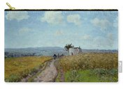 June Morning, View Over The Hills Over Pontoise, 1873 Carry-all Pouch