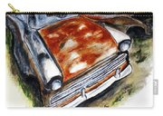 Junk Car No.10 Carry-all Pouch by Clyde J Kell