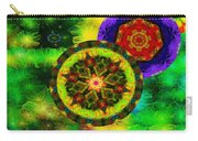 Kaleidoscope Moon For Children Gone To Soon Number - 3 Intensified  Carry-all Pouch