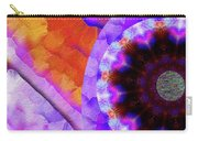 Kaleidoscope Moon For Children Gone Too Soon Number - 5 Flame And Flower  Carry-all Pouch