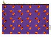 Kawaii Pumpkin Purple Carry-all Pouch