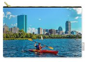 Kayaking On The Charles Carry-all Pouch