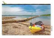 Kayaking To Goat Island Maine Carry-all Pouch