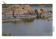 Kayaking Watson Lake Carry-all Pouch
