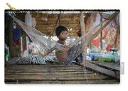 Keeping Cool In Cambodia Carry-all Pouch