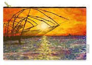 Kerala Sunset Carry-all Pouch by Joel Tesch