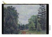 Kew Gardens, Crossroads Near The Pond, 1892 Carry-all Pouch
