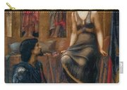 King Cophetua And The Beggar Maid 1884 Carry-all Pouch