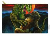 King Kong Vs Tyrannosaurus Rex Carry-all Pouch