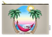 Kiniart Tropical Bichon Frise Carry-all Pouch