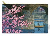 Kintai Bridge Night Spring - Digital Remastered Edition Carry-all Pouch