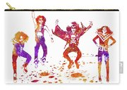 Kiss Band Watercolor Splatter 01 Carry-all Pouch