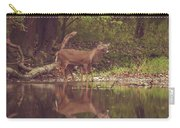 Kissing Deer Reflection Carry-all Pouch
