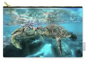 Kissing Turtle Carry-all Pouch