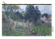 Kitchen Garden At The Hermitage, Pontoise, 1879 Carry-all Pouch