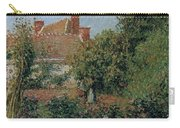 Kitchen Garden In Eragny, Afternoon, 1901 Carry-all Pouch