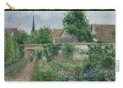 Kitchen Garden, Overcast Morning, Eragny, 1891  Carry-all Pouch