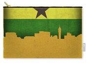 Kumasi Ghana World City Flag Skyline Carry-all Pouch