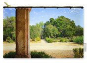 La Purisima Mission Garden From The Arcade Carry-all Pouch