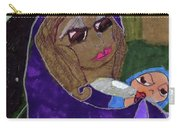 Lady With Child Carry-all Pouch
