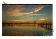 Lagoon Sunbeam Sunrise Carry-all Pouch