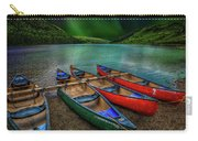 lake Geirionydd Canoes Carry-all Pouch by Adrian Evans
